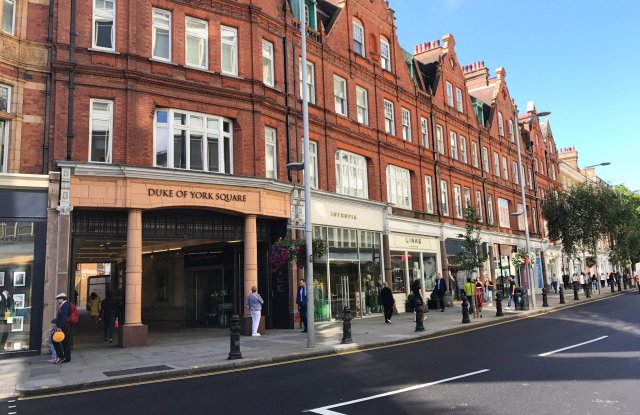 The King's Road in London is undergoing a revamp, courtesy of the Cadogan estate and local partners.