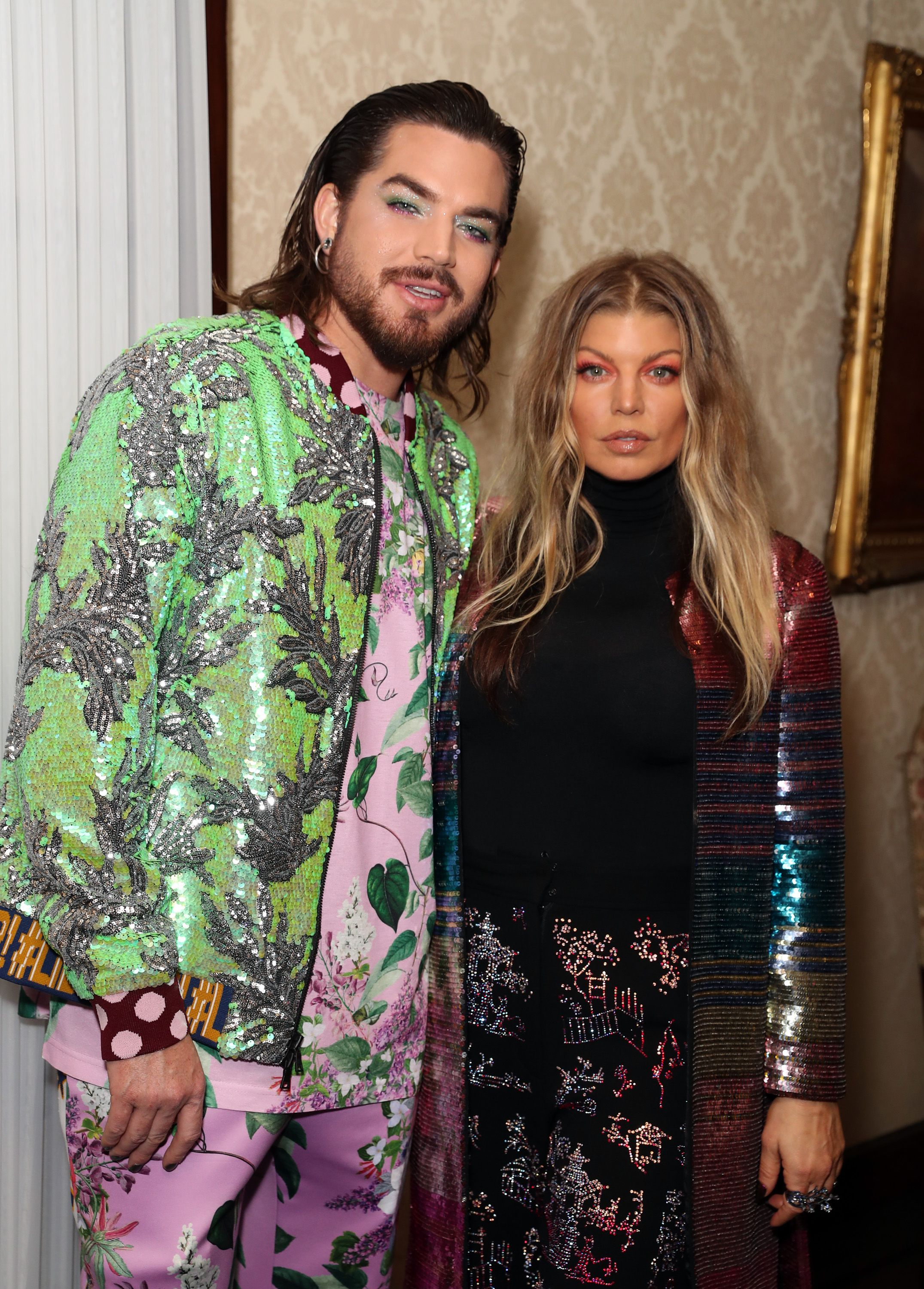 Adam Lambert and FergieLibertine show, After Party, Fall Winter 2019, The Ebell, Los Angeles, USA - 26 Apr 2019