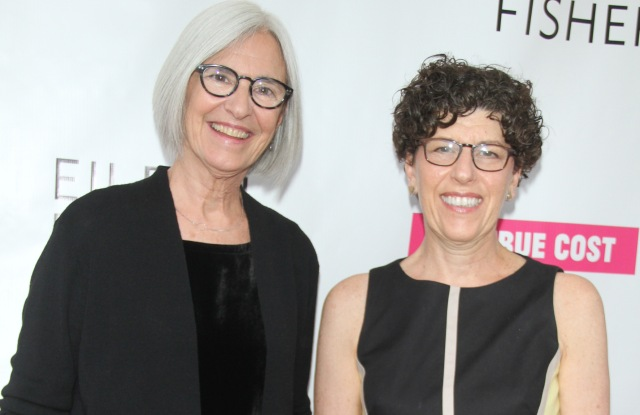 Eileen Fisher and Linda Greer'The True Cost' film premiere, New York, America - 28 May 2015