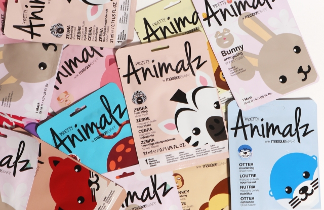 Look Beauty sheet masks.