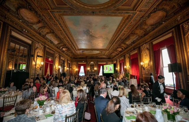 The Madison Square Boys & Girls Club spring luncheon.