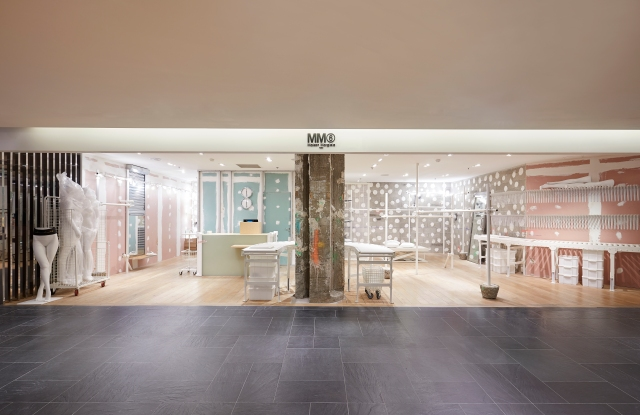 The new MM6 Maison Margiela shop-in-shop at Printemps