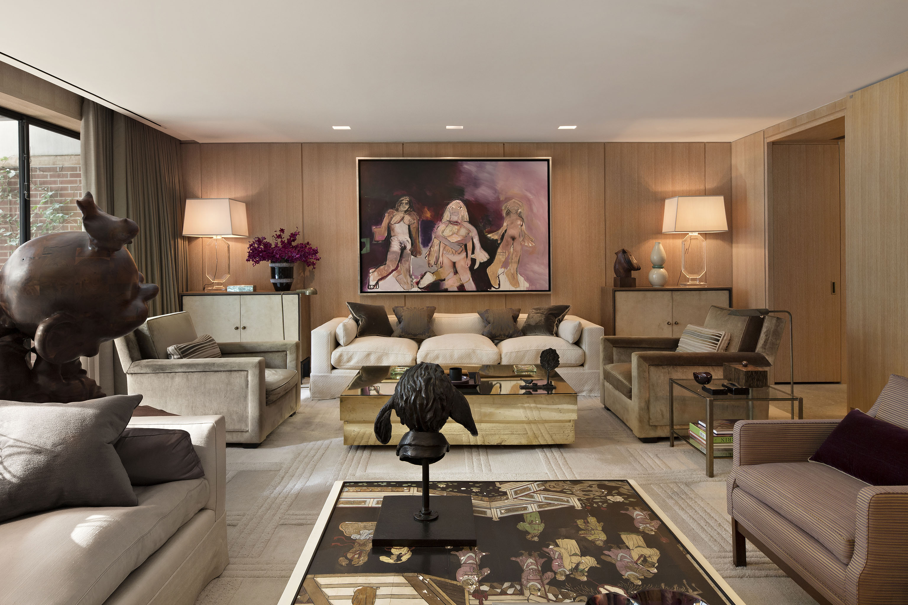 Marc Jacobs' NYC town house.