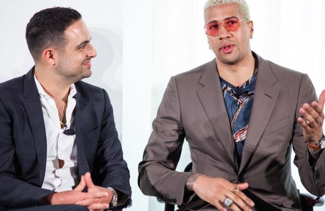 Mario Acquarulo and Miles Chamley-Watson