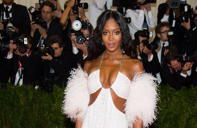 Naomi Campbell attends The Metropolitan Museum of Art's Costume Institute benefit gala celebrating 'Charles James: Beyond Fashion', in New York2014 MET Museum Costume Institute Benefit Gala, New York, USA - 5 May 2014