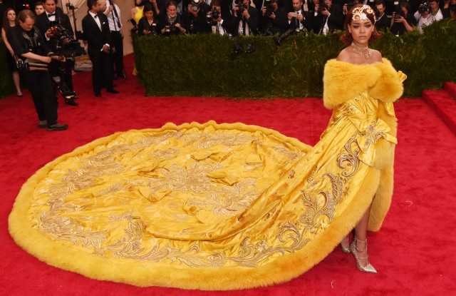 RihannaCostume Institute Gala Benefit celebrating China: Through the Looking Glass, Metropolitan Museum of Art, New York, America - 04 May 2015WEARING GUO PEI