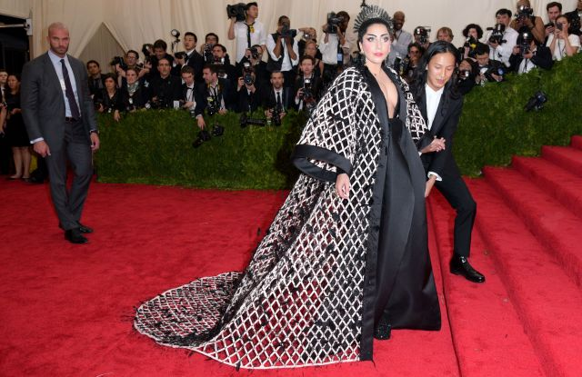 Lady GagaCostume Institute Gala Benefit celebrating China: Through the Looking Glass, Metropolitan Museum of Art, New York, America - 04 May 2015 WEARING BALENCIAGA