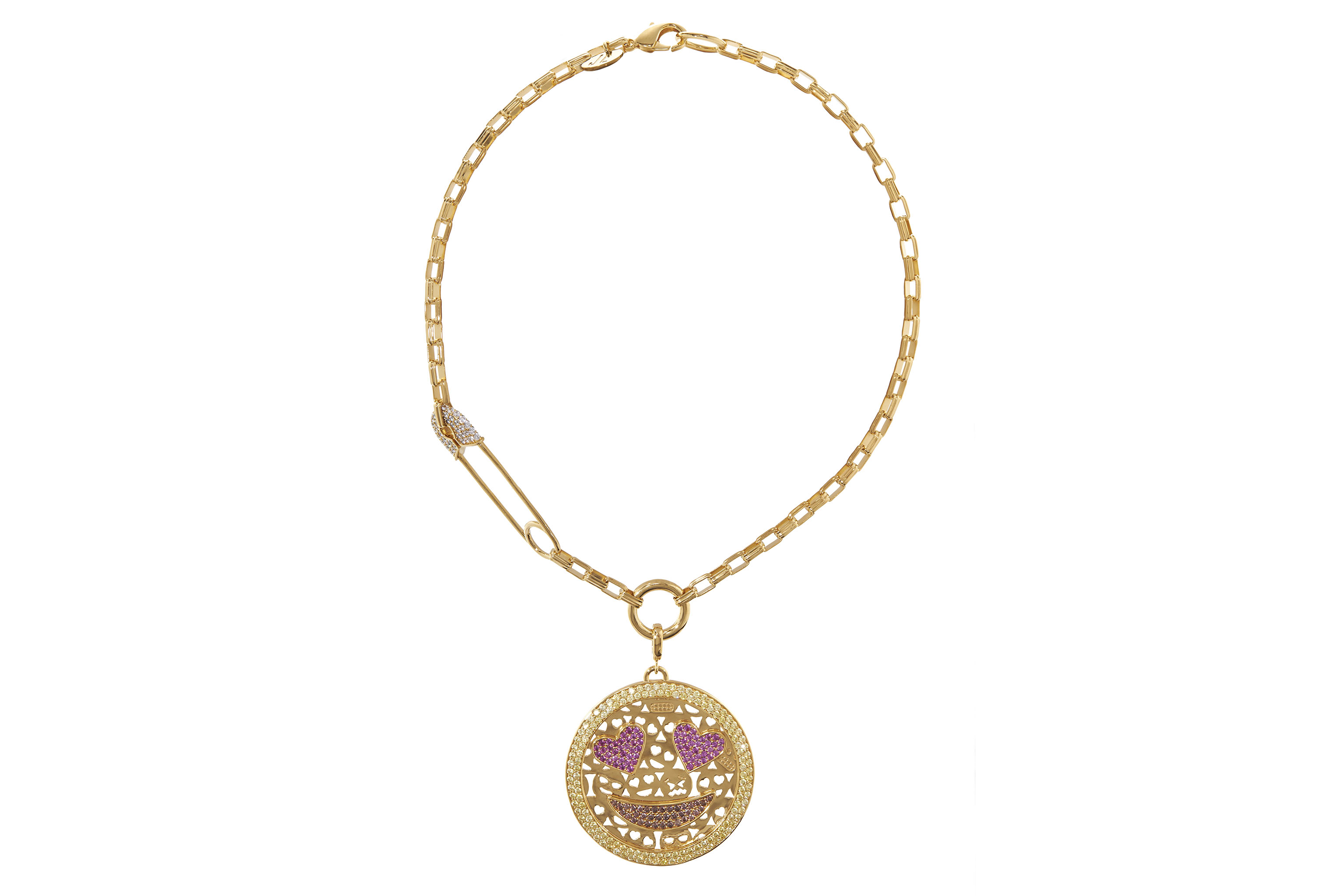 A necklace from the Judith Leiber Jewelry collection.