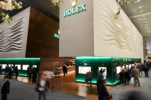 Baselworld: Rolex booth