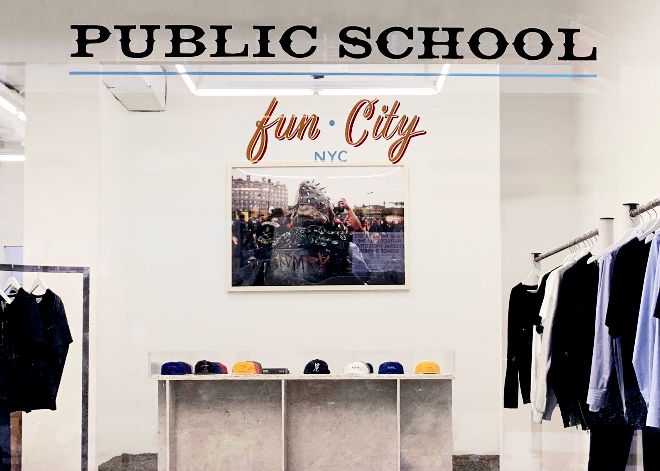 Guesst will power a loft for Public School next month.