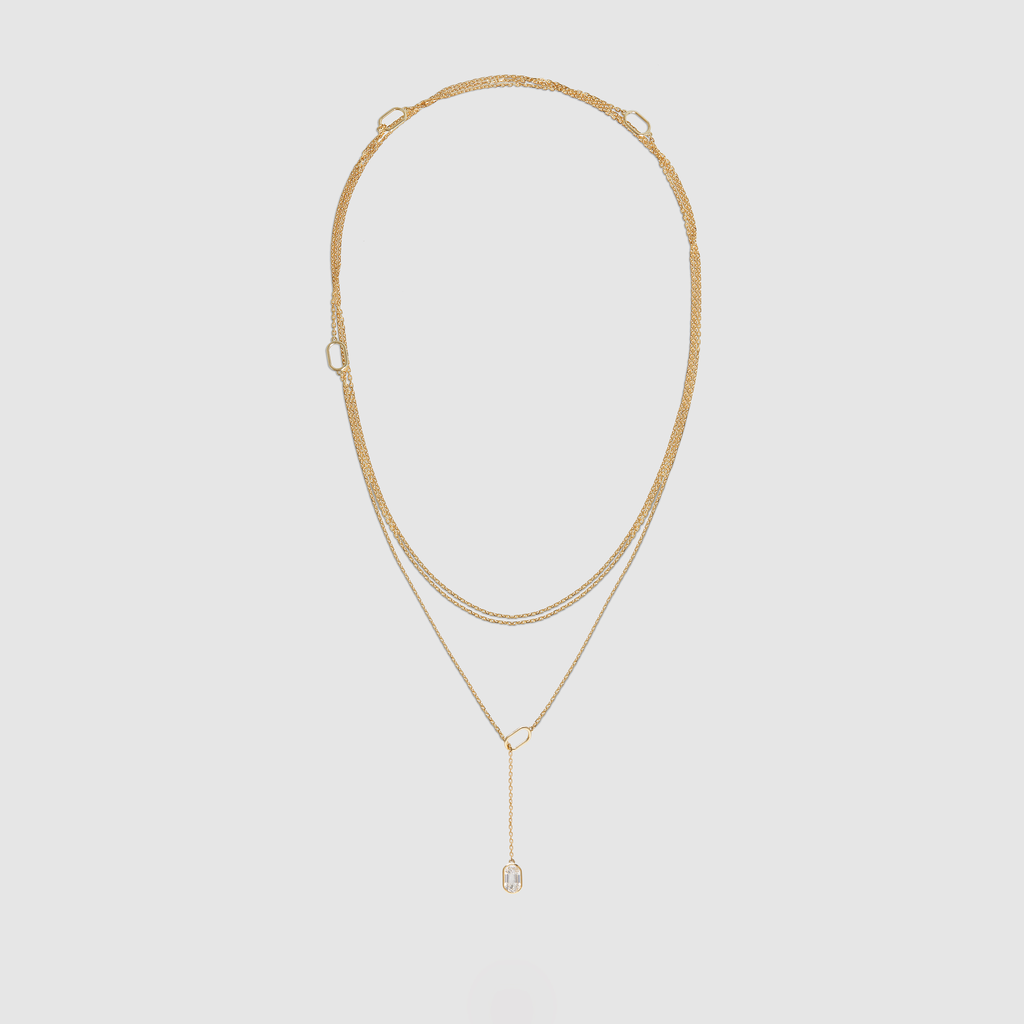 A necklace by Raphaele Canot.