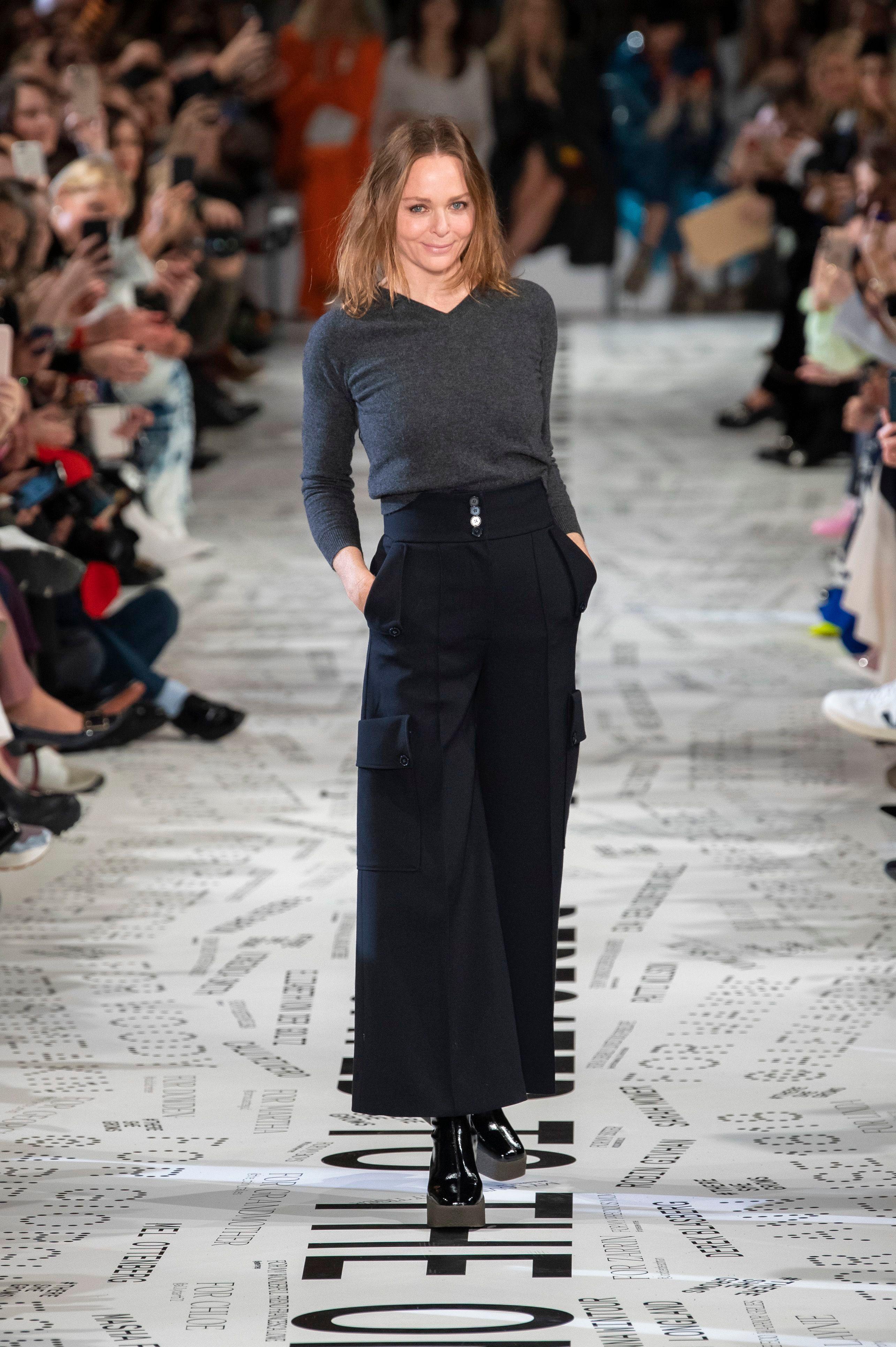 Stella McCartney on the catwalkStella McCartney show, Runway, Fall Winter 2019, Paris Fashion Week, France - 04 Mar 2019