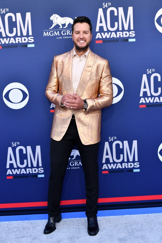 Luke Bryan54th Annual ACM Awards, Arrivals, Grand Garden Arena, Las Vegas, USA - 07 Apr 2019