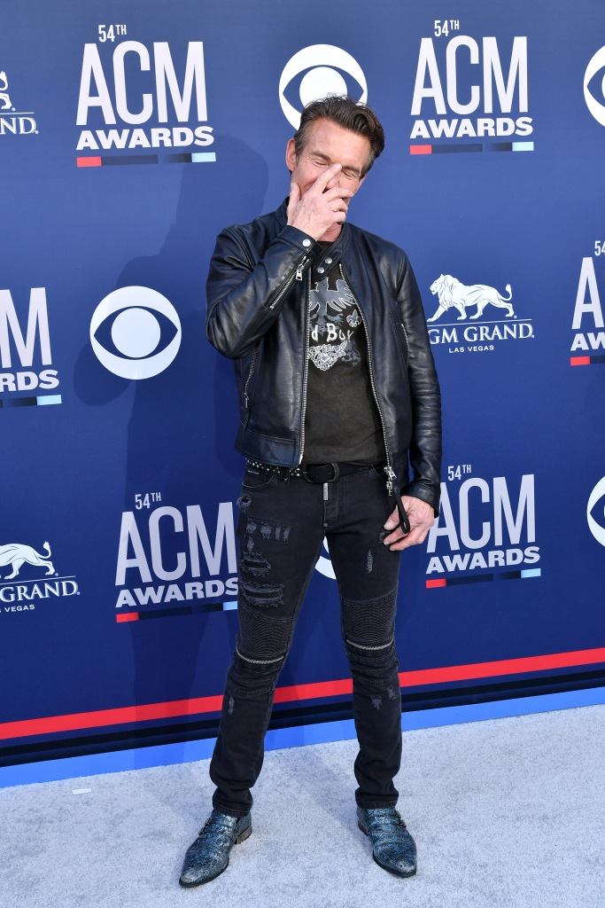 Dennis Quaid54th Annual ACM Awards, Arrivals, Grand Garden Arena, Las Vegas, USA - 07 Apr 2019