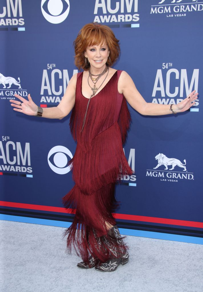 Reba McEntire54th Annual ACM Awards, Arrivals, Grand Garden Arena, Las Vegas, USA - 07 Apr 2019
