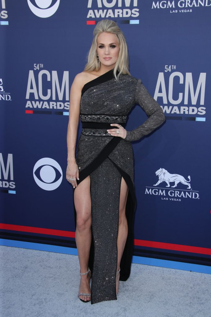 Carrie Underwood54th Annual ACM Awards, Arrivals, Grand Garden Arena, Las Vegas, USA - 07 Apr 2019Wearing Nicolas Jebran