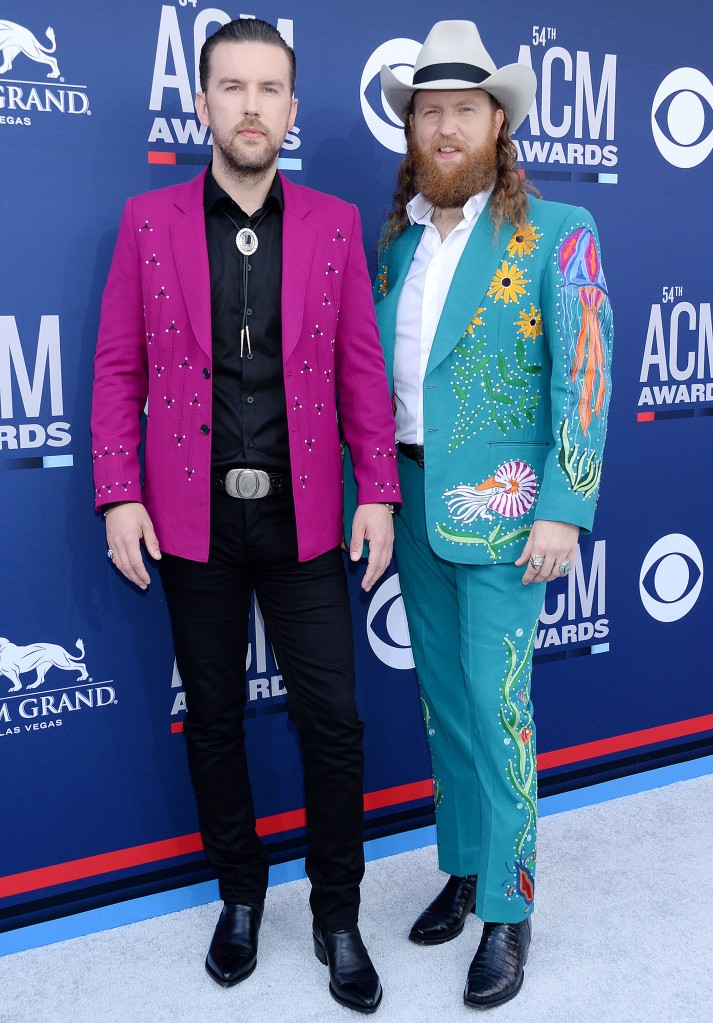 Brothers Osborne (T.J. Osborne and John Osborne)54th Annual ACM Awards, Arrivals, Grand Garden Arena, Las Vegas, USA - 07 Apr 2019