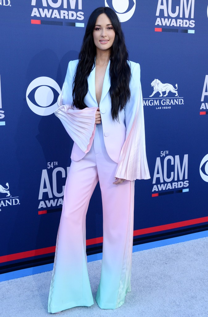 Kacey Musgraves54th Annual ACM Awards, Arrivals, Grand Garden Arena, Las Vegas, USA - 07 Apr 2019Wearing Christian Cowan x Powerpuff Girls same outfit as catwalk model *10148820ck