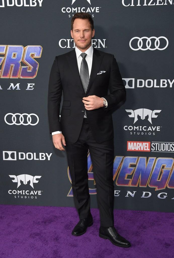 Chris Pratt'Avengers: Endgame' Film Premiere, Arrivals, LA Convention Center, Los Angeles, USA - 22 Apr 2019