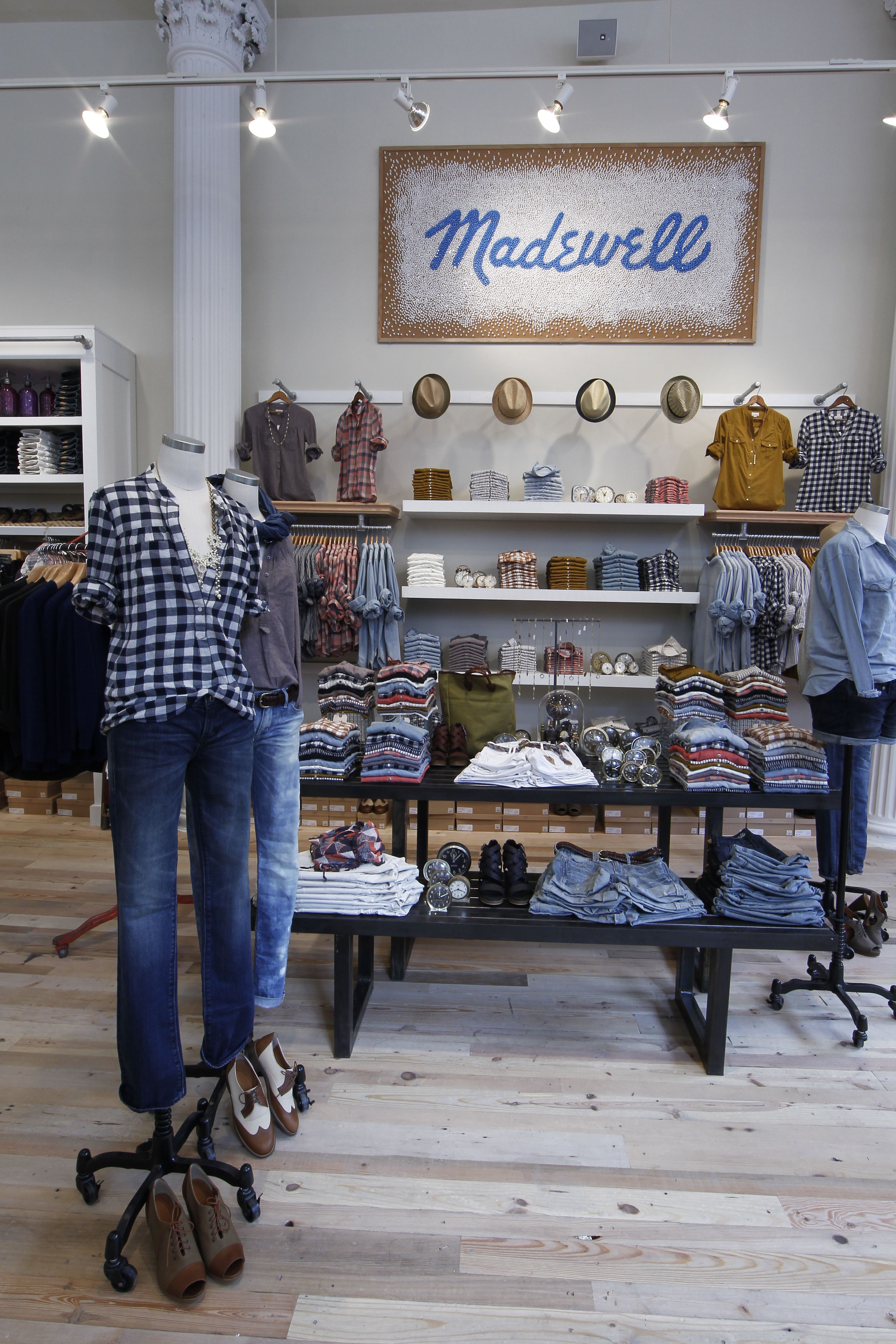 The Madewell store at 115 Fifth Avenue. Madewell Fifth Avenue, New York