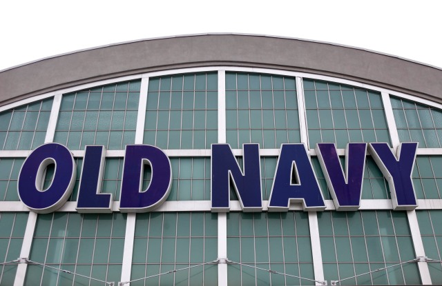 An Old Navy Store is seen in Paramus, N.J., . Gap Inc. said Thursday that strong sales at its lower-priced Old Navy chain helped its fourth-quarter profit rise 45 percentEarns Gap, Paramus, USA