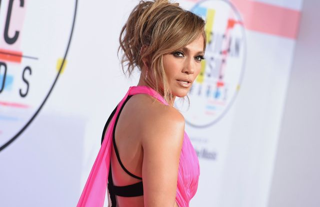 Jennifer Lopez arrives at the American Music Awards, at the Microsoft Theater in Los Angeles2018 American Music Awards - Arrivals, Los Angeles, USA - 09 Oct 2018