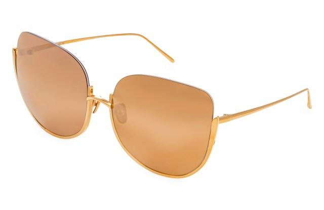 Linda Farrow Precious Lens Kennedy sunglasses.