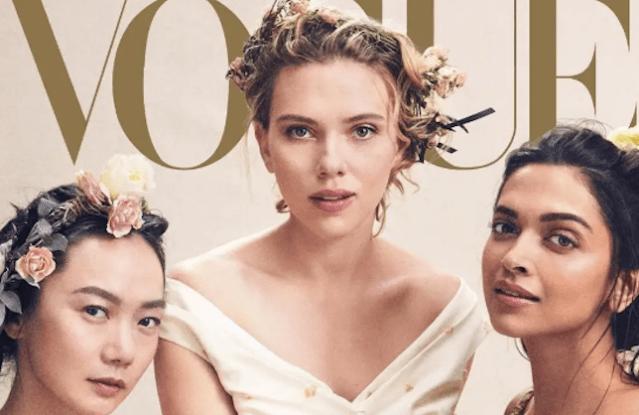 Vogue's April cover.