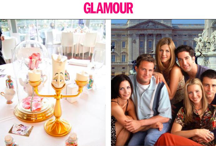 Glamour Hungary's homepage.