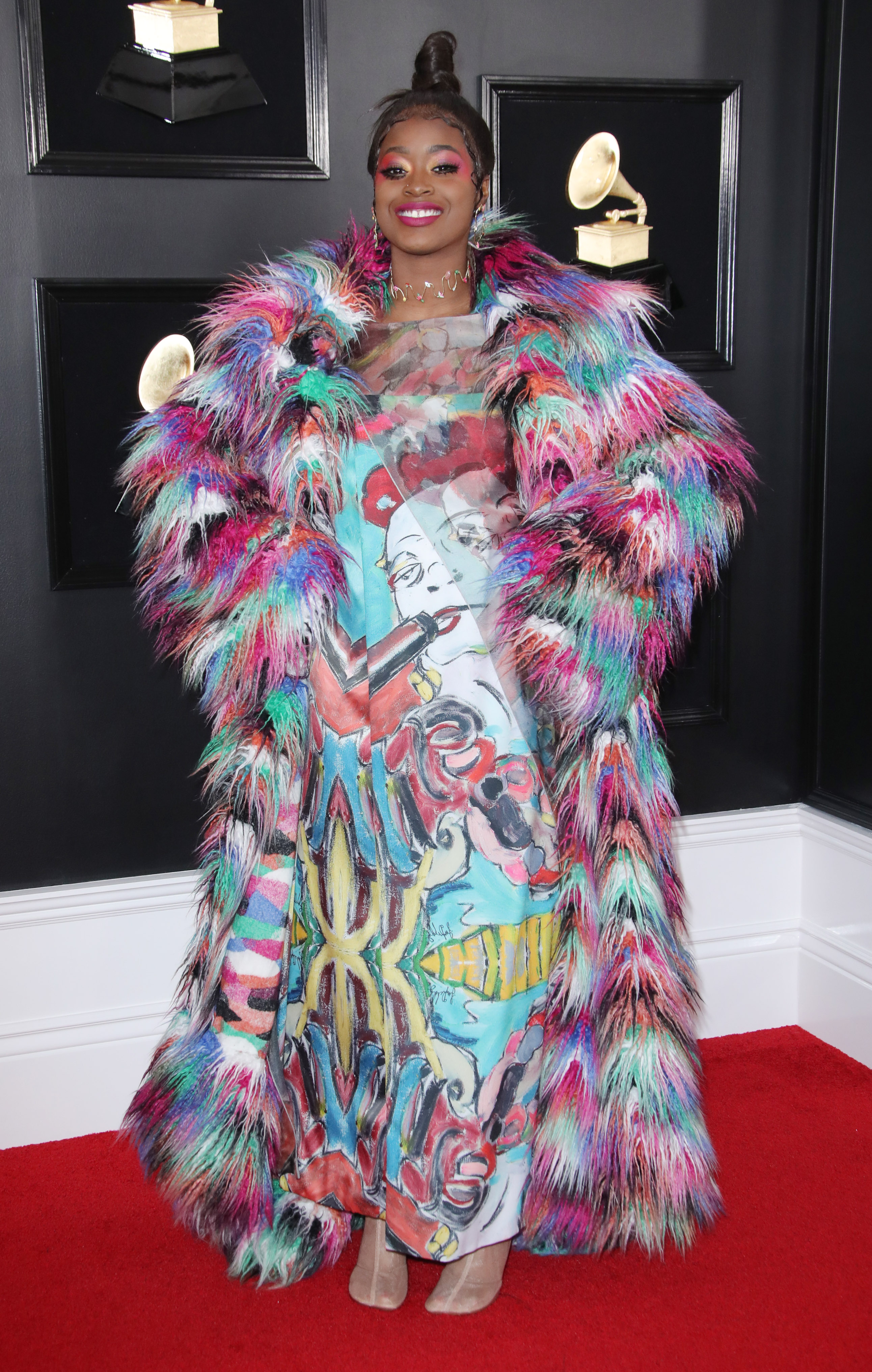 Tierra Whack61st Annual Grammy Awards, Arrivals, Los Angeles, USA - 10 Feb 2019