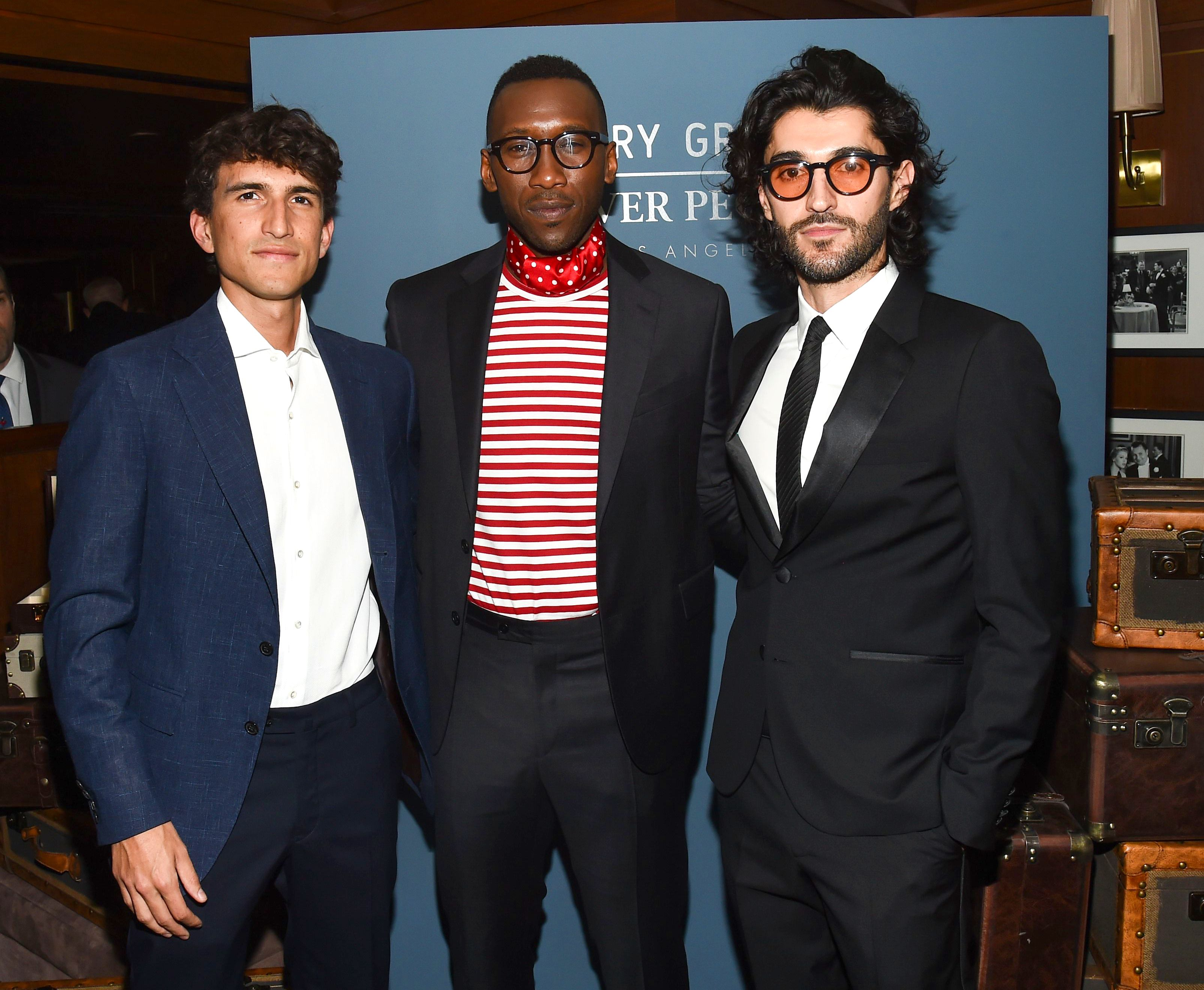 Rocco Basilico, Mahershala Ali and Giampiero TagliaferriOliver Peoples x Cary Grant Dinner Party, Los Angeles, USA - 04 Apr 2019