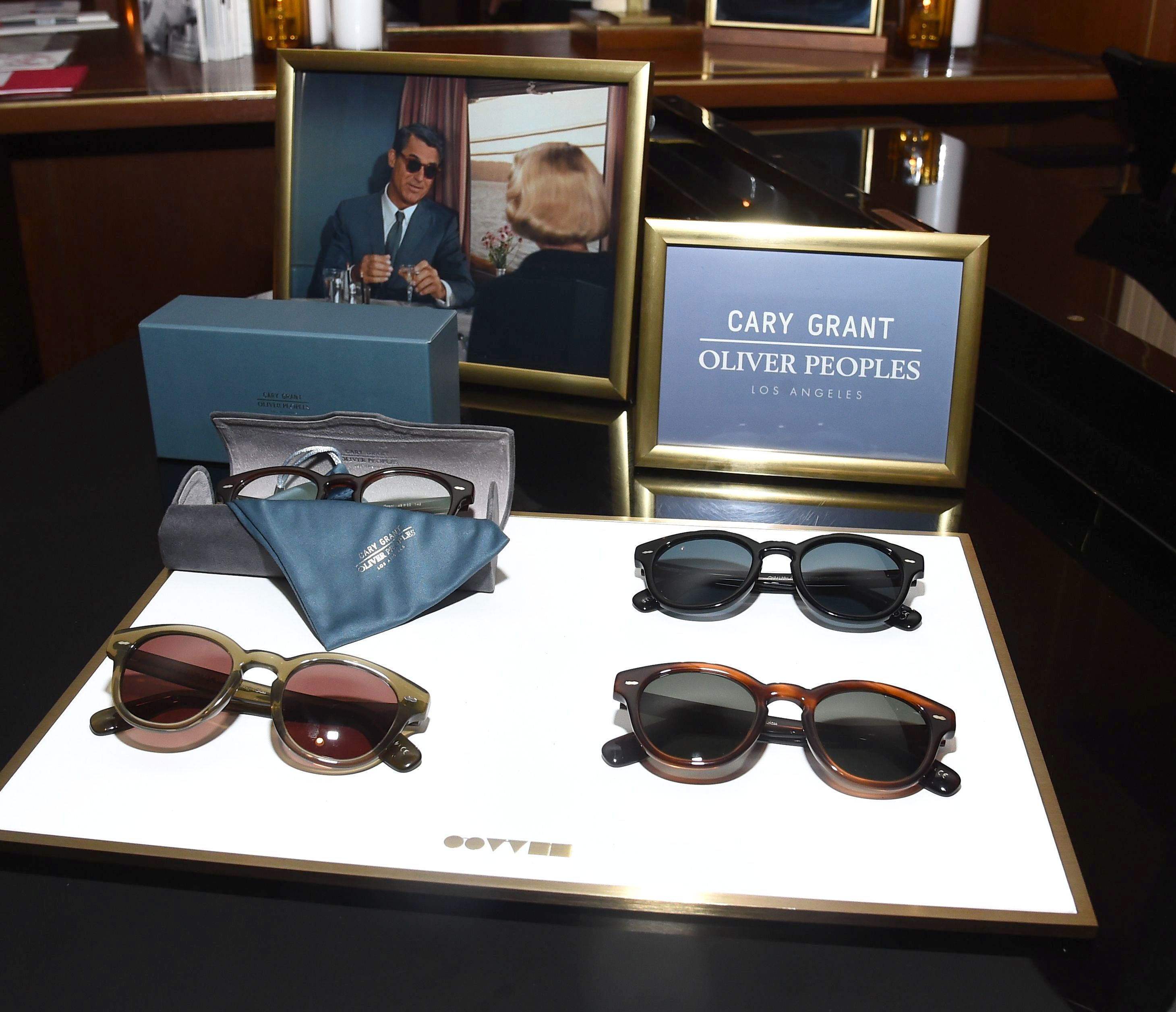 Oliver Peoples Glasses and SunglassesOliver Peoples x Cary Grant Dinner Party, Los Angeles, USA - 04 Apr 2019