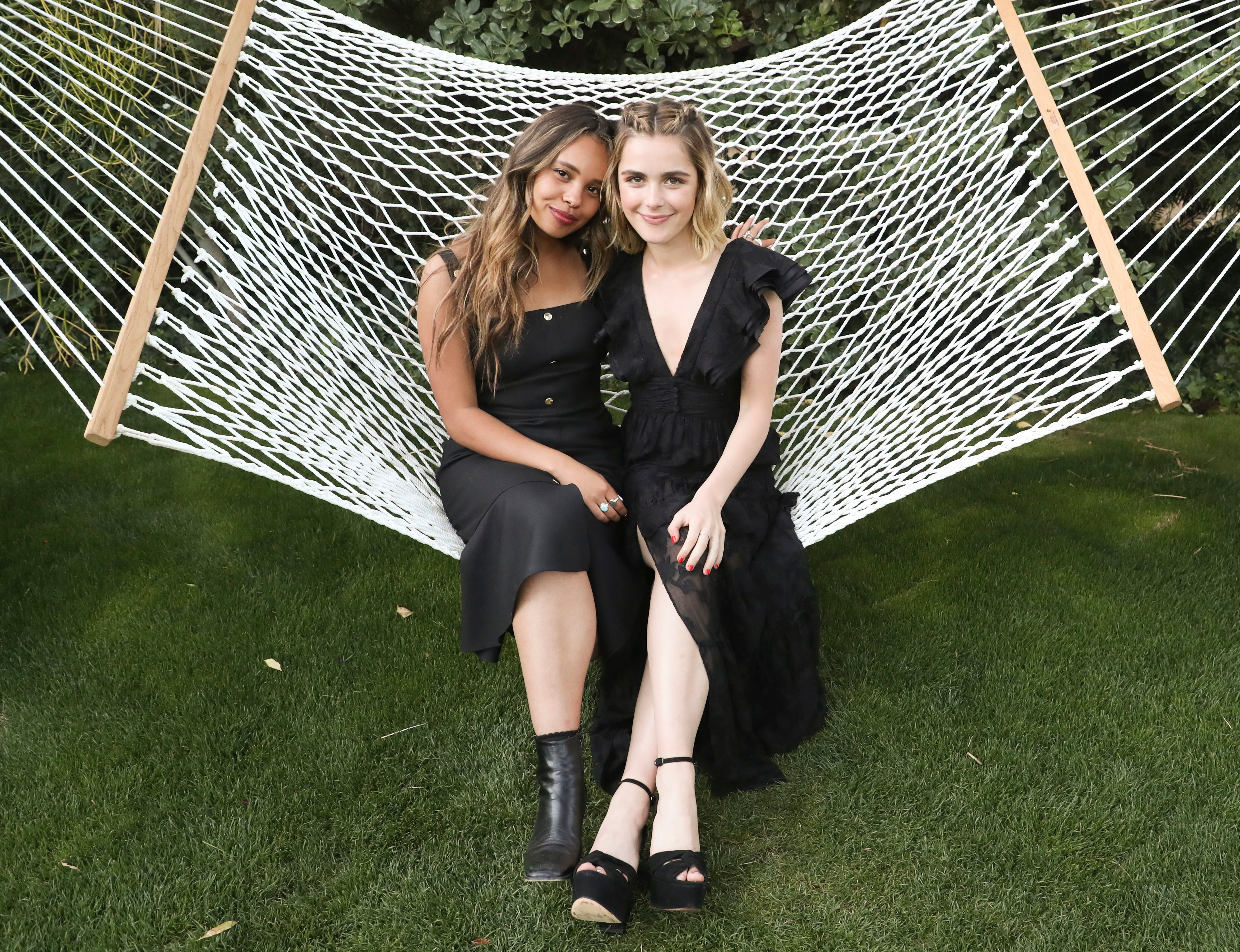 Alisha Boe and Kiernan Shipka5th Annual ZOEasis Party, Coachella Valley Music and Arts Festival, Weekend 1, Day 1, Palm Springs, USA - 12 Apr 2019