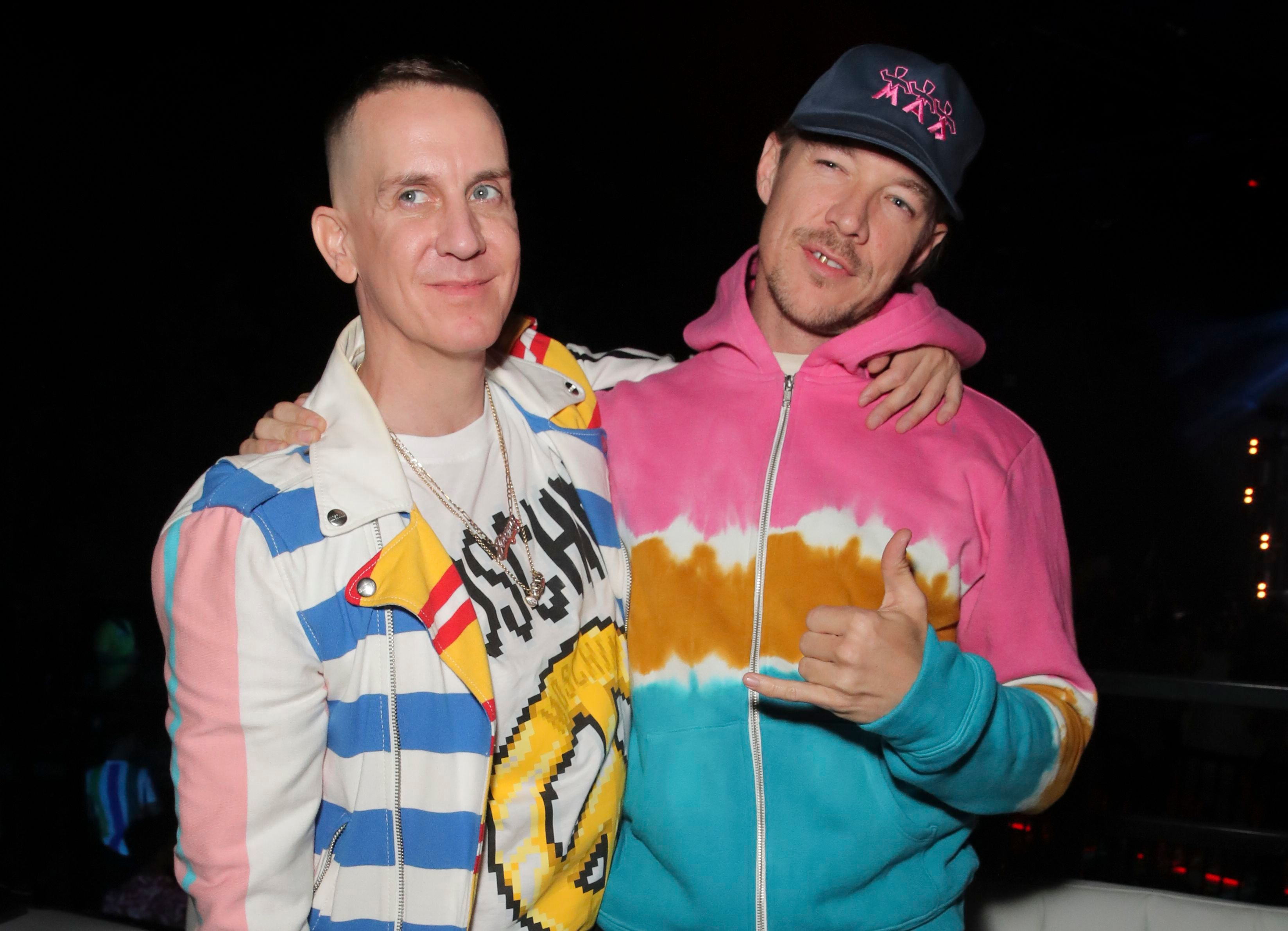 Jeremy Scott and DiploMoschino x The Sims Party, Coachella Valley Music and Arts Festival, Weekend 1, Day 2, Indio, USA - 13 Apr 2019