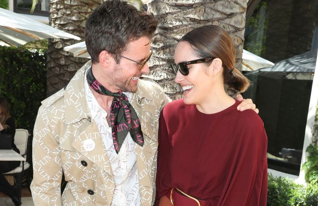 Brad Goreski and Louise RoeH.E.A.R.T. X Valentino, 14 Beverly Park, Los Angeles, USA - 24 Apr 2019