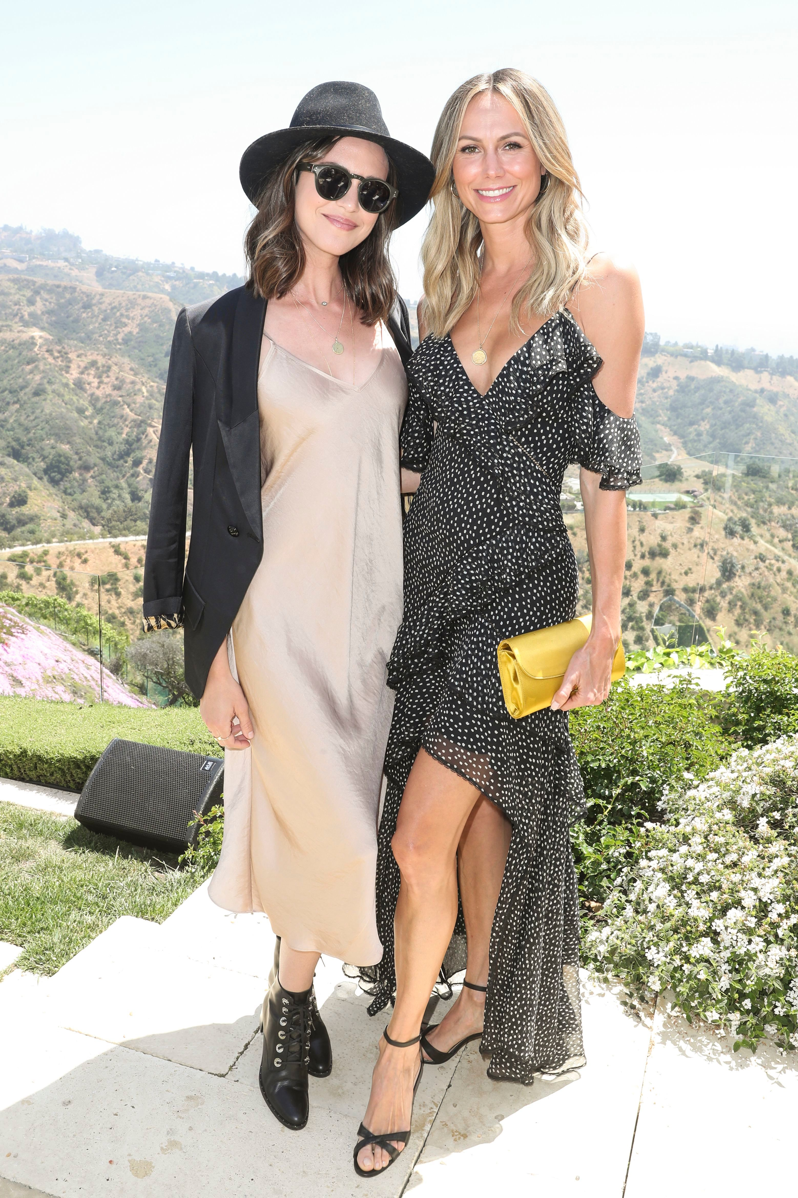 Odette Annabel and Stacy KeiblerH.E.A.R.T. X Valentino, 14 Beverly Park, Los Angeles, USA - 24 Apr 2019