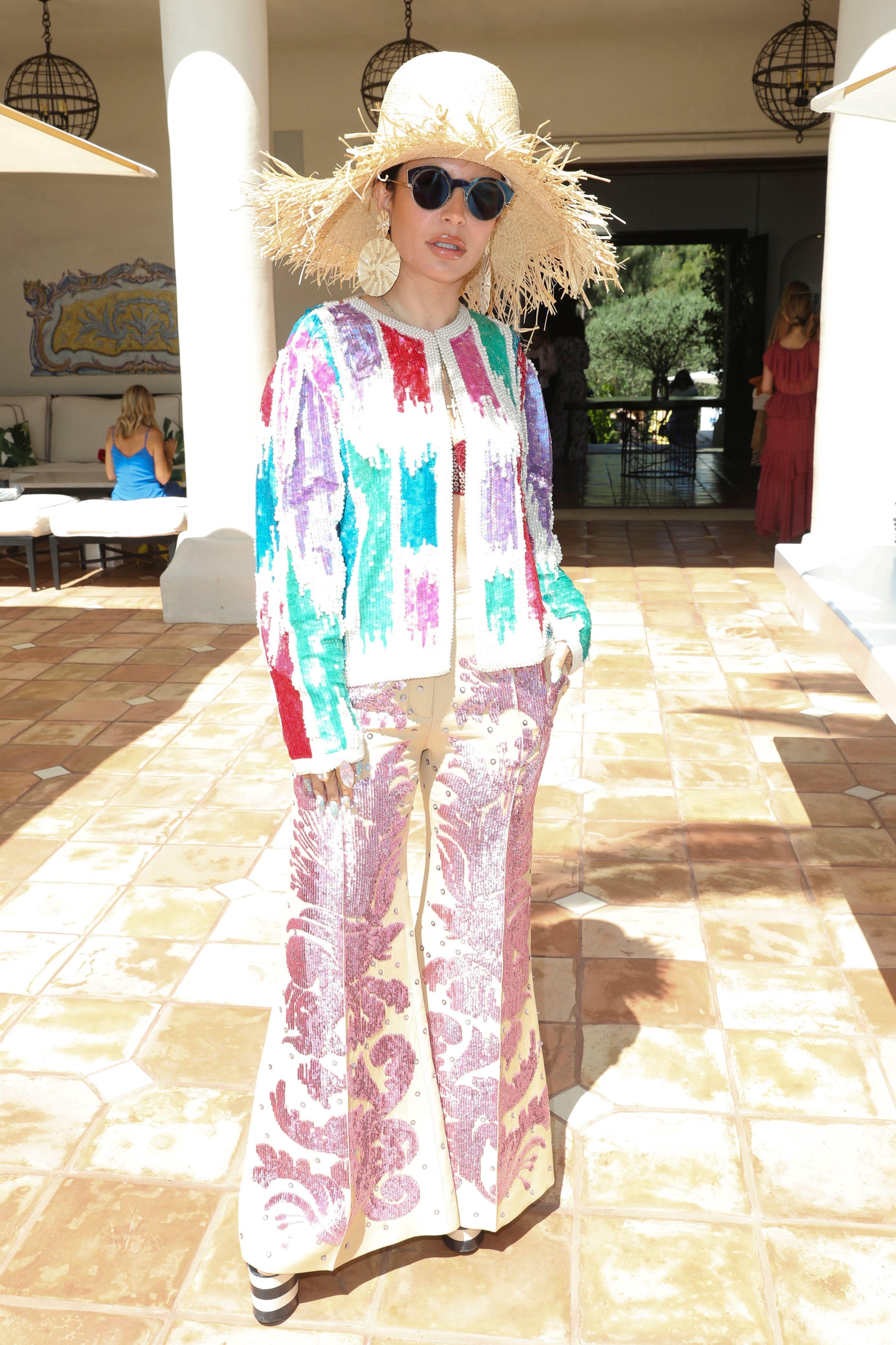 AuretaH.E.A.R.T. X Valentino, 14 Beverly Park, Los Angeles, USA - 24 Apr 2019