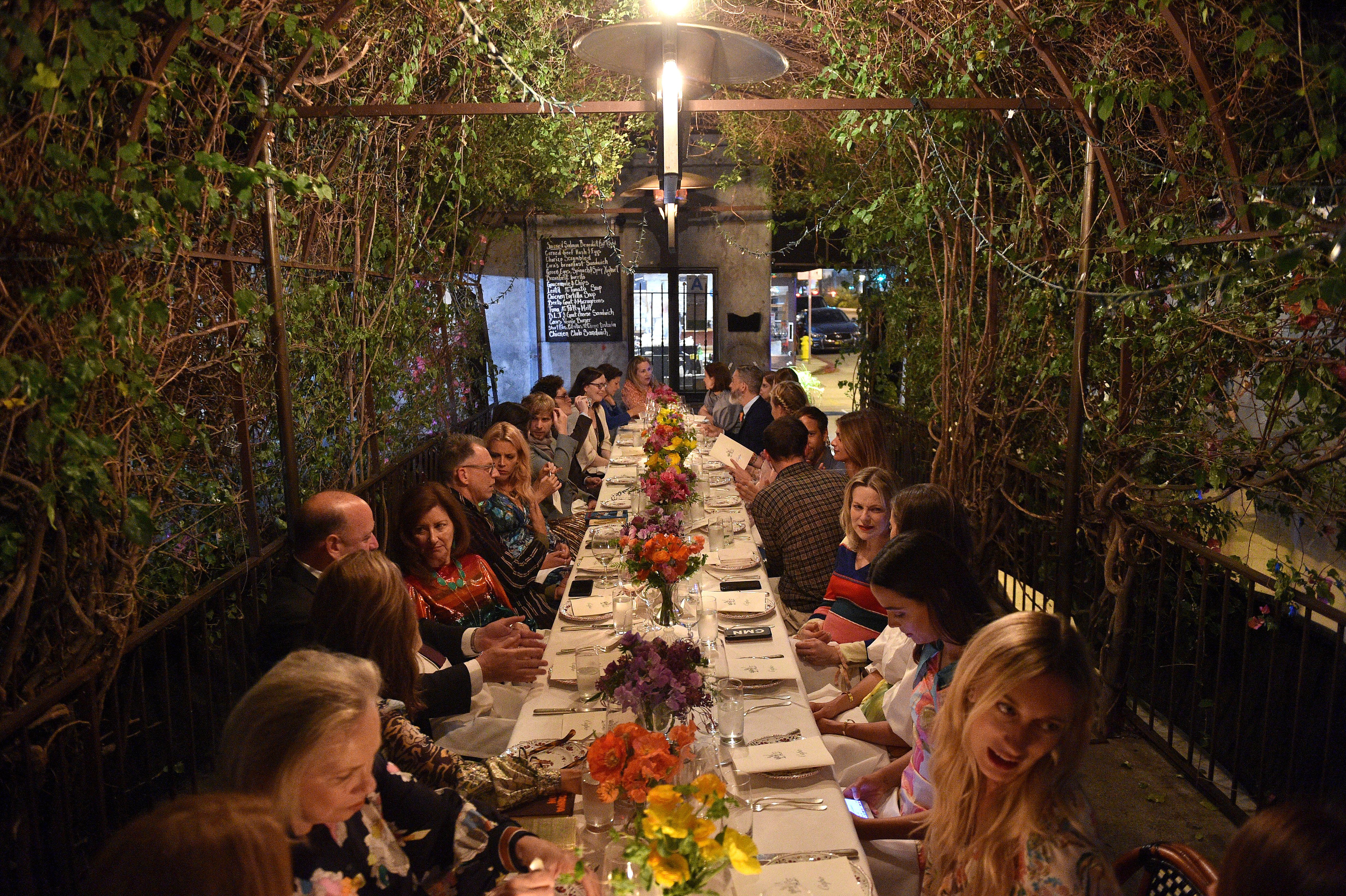 Atmosphere Intimate dinner following the Capitol & Irene Neuwirth Brentwood store opening, Los Angeles, USA - 25 Apr 2019