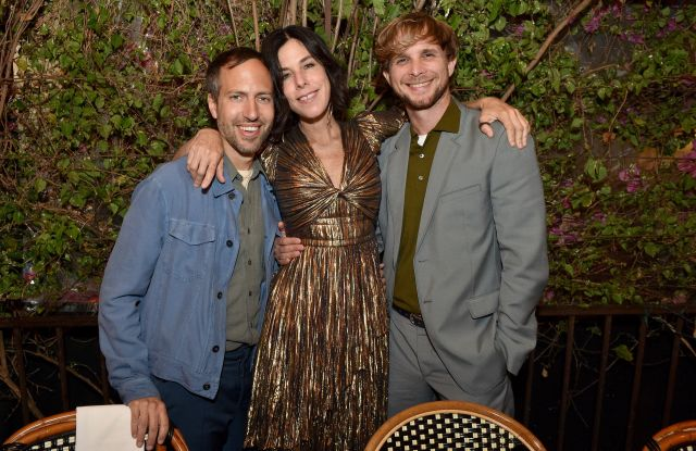 Irene Neuwirth, Peter Pilotto and Christopher de VosIntimate dinner following the Capitol & Irene Neuwirth Brentwood store opening, Los Angeles, USA - 25 Apr 2019