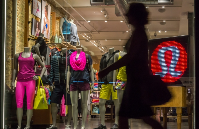 Lululemon opened about 20 brick-and-mortar units in the last year.
