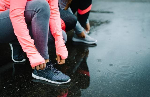Several apparel companies are moving into the footwear market.
