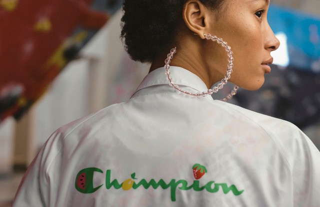 A look from Susan Alexandra's collaboration with Champion.
