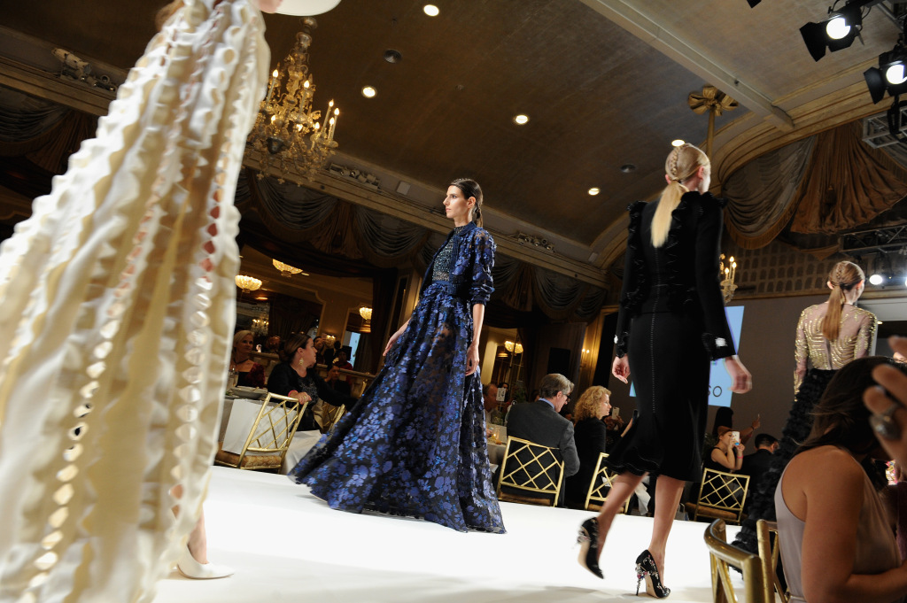 Models walk the runway for Fashion 4 Development.