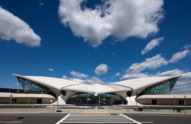 The TWA Flight Center at New York City's John F. Kennedy International Airport.