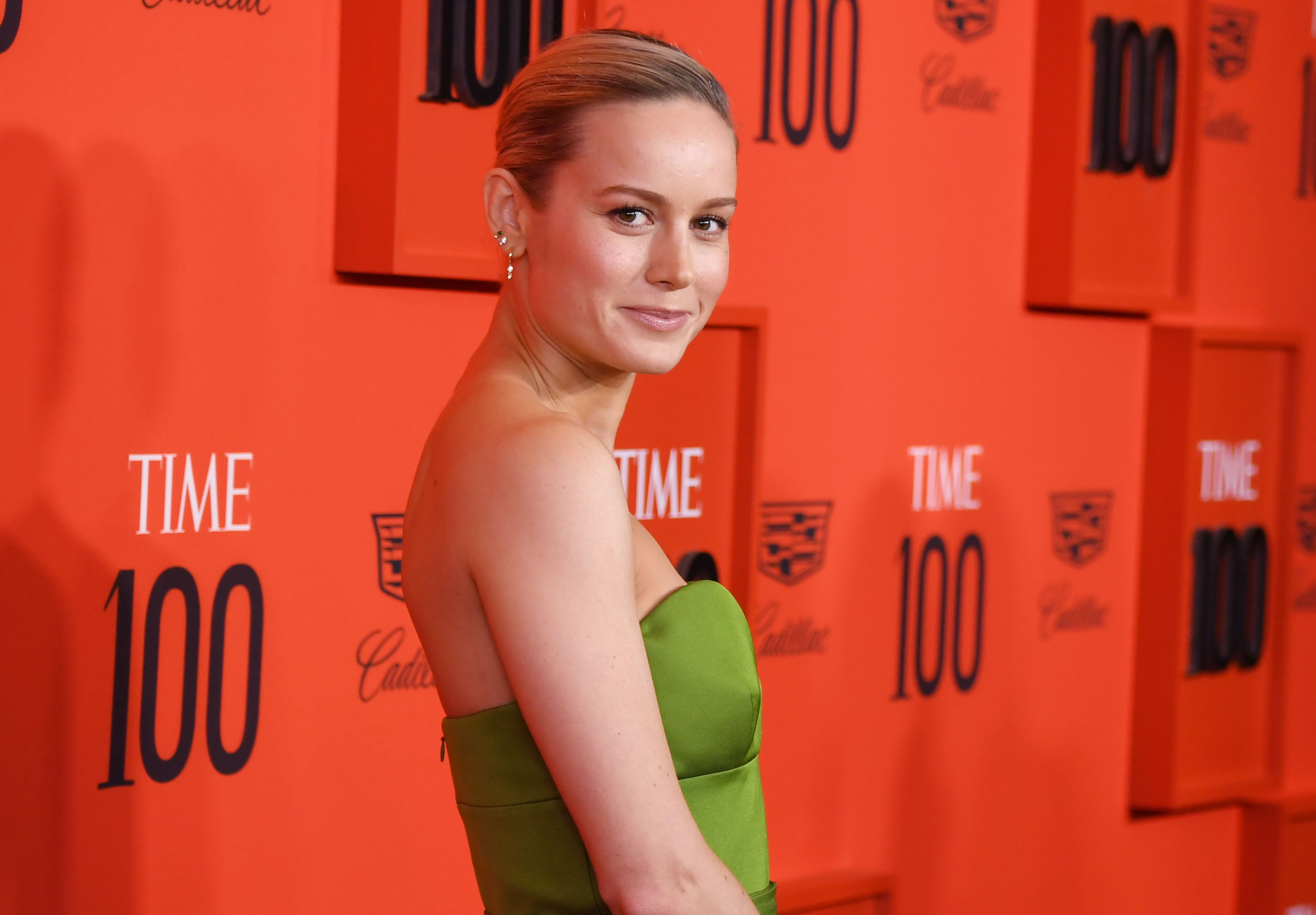 Brie Larson Time 100 Gala, Arrivals, Jazz at Lincoln Center, New York, USA - 23 Apr 2019