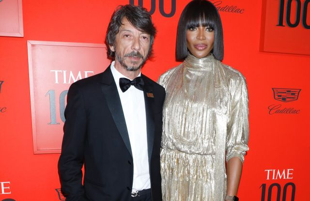 Pierpaolo Piccioli and Naomi CampbellTime 100 Gala, Arrivals, Jazz at Lincoln Center, New York, USA - 23 Apr 2019