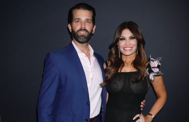 Donald Trump Jnr. and Kimberly Guilfoyle in the front rowZang Toi show, Front Row, Fall Winter 2019, New York Fashion Week, USA - 13 Feb 2019