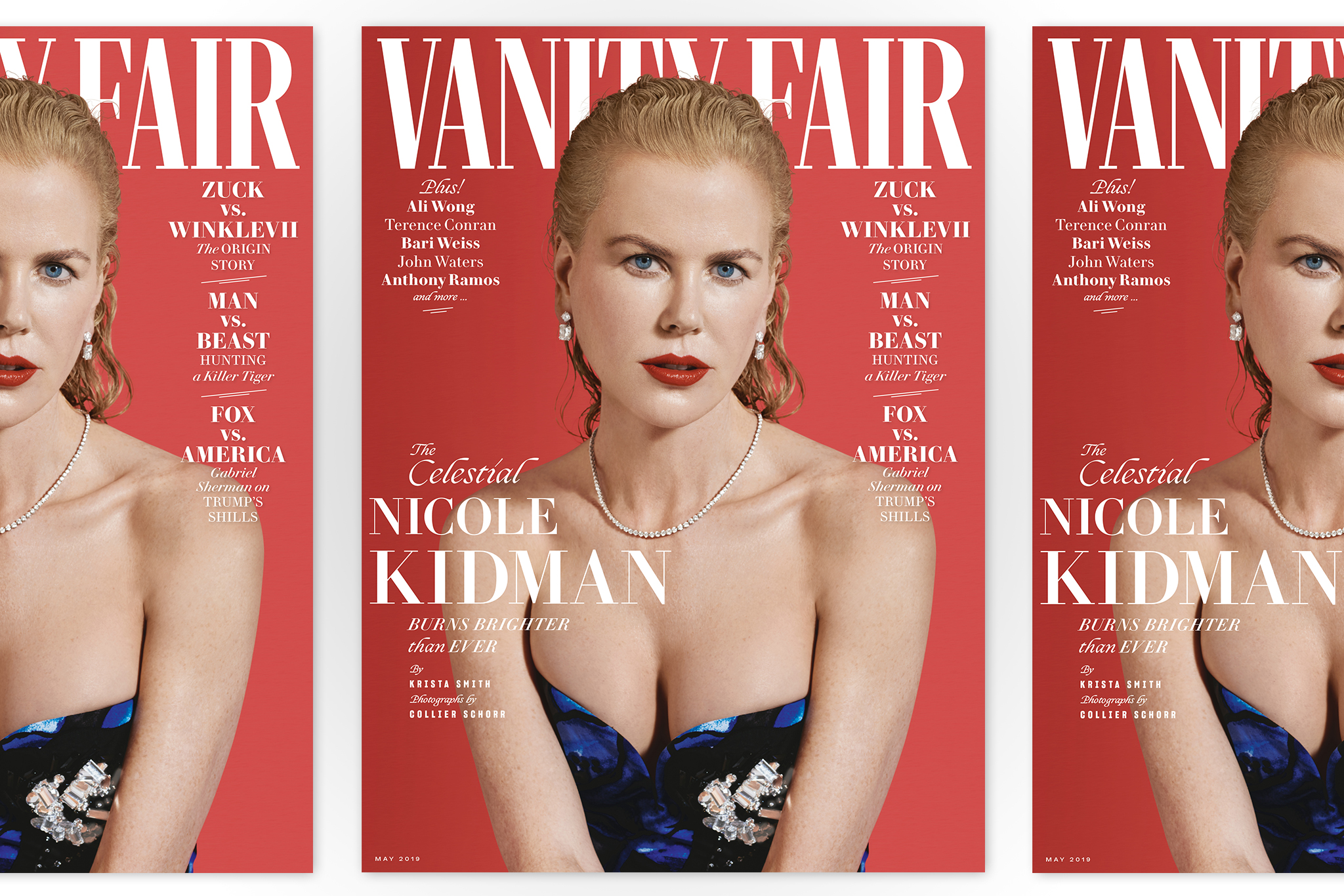 Nicole Kidman for Vanity Fair May shot by Collier Schorr.