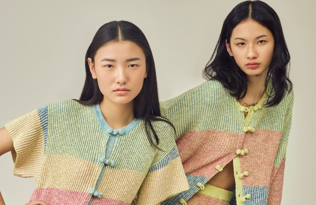 Looks from YanYan's Spring 2019 collection.