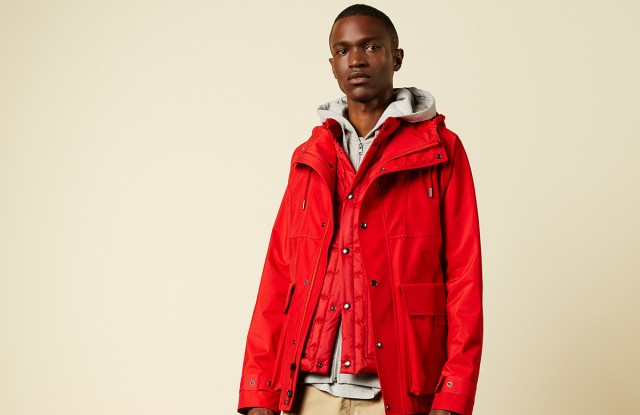 A look from Woolrich spring 2020 collection